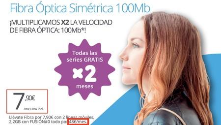 De 7,90 euros a 48 euros al mes: la publicidad con precios parciales sigue a la orden del día