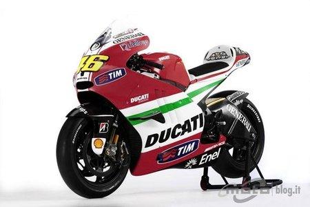 Ducati Desmosedici GP11 alternativa a los colores oficiales