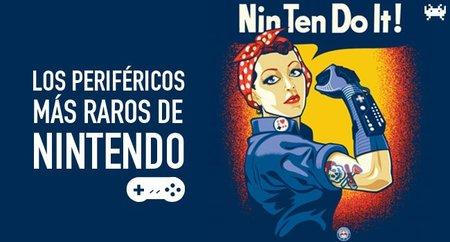 Los periféricos más raros de Nintendo