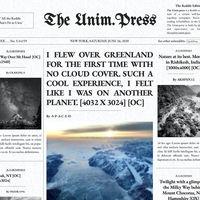 Unim.Press: lee Reddit como si fuese un periódico impreso