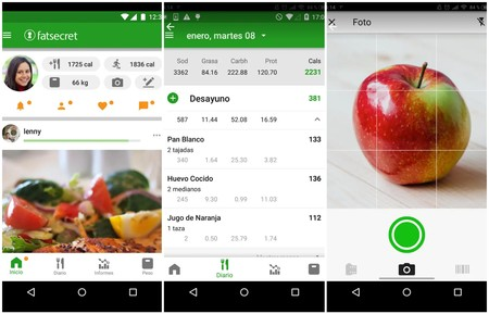 mejor app para dieta