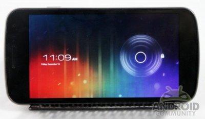 La interfaz para tablets de Ice Cream Sandwich en el Galaxy Nexus