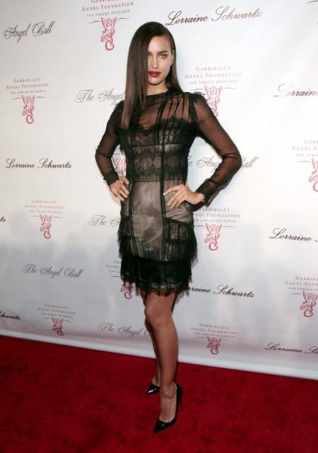 Irina Shayk Angel Ball