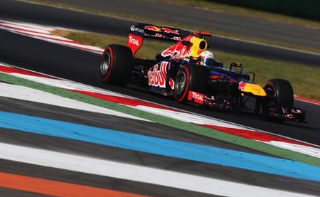 Sebastian Vettel asusta en los últimos entrenamientos libres