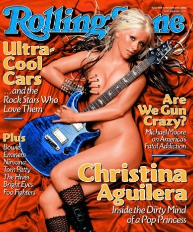 Christina Aguilera en Rolling Stones