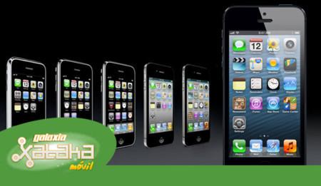La evolución de iOS hasta la fecha. Galaxia Xataka Móvil