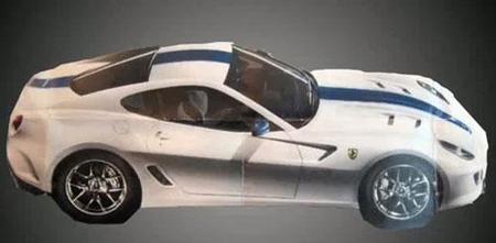 ¿Primera imagen oficial del Ferrari 599 GTO?