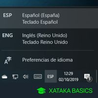 Poner el teclado español: cómo cambiar la distribución de teclado en Windows 10