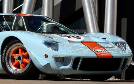 Dos Ford GT40 en la subasta Monterey 2012 de RM Auctions, ¡uno con experiencia en el cine!