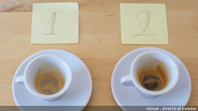 Marcilla vs Nespresso - descafeinados después