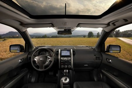 Interior del Nissan X-Trail 2010