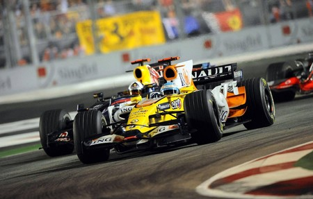 Fernando Alonso Singapur Formula1 2008