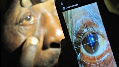 Peek, la aplicación que permite diagnosticar problemas oculares con el móvil