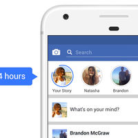 Facebook está probando las Facebook Stories también en su aplicación principal
