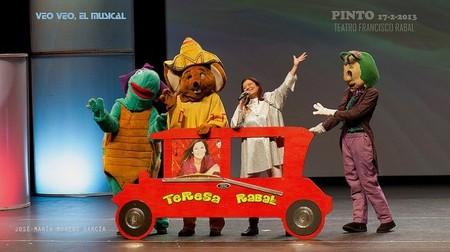 Ya se puede ver Veo Veo el musical de Teresa Rabal pensado para tres generaciones