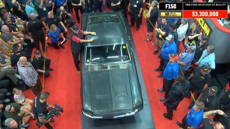 Subasta Ford Mustang Gt 1968 Bullitt 6