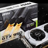 MSI también lanza dos nuevas GeForce GTX 950 que consumen sólo 75W