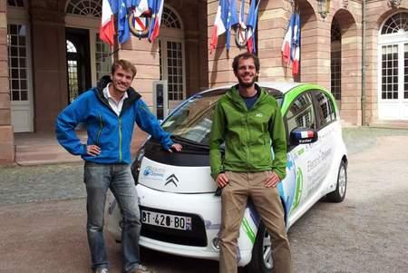 Y el Citroën C-Zero de la 'Electric Odissey' completó la vuelta al mundo