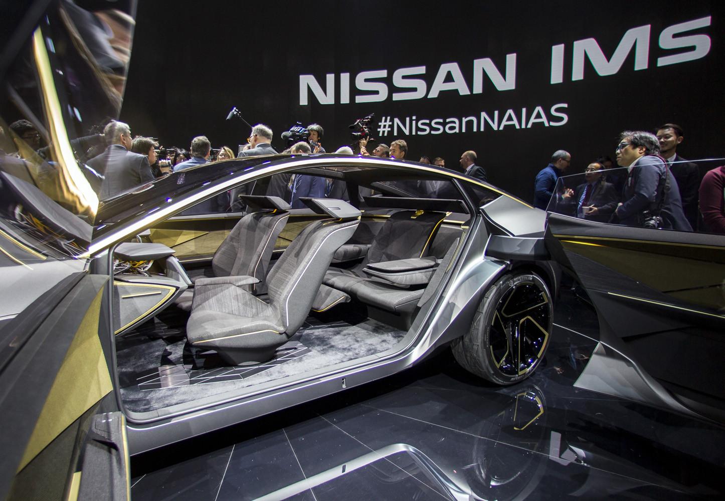 Foto de Nissan IMs EV Sports Sedan concept (30/31)