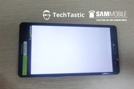 Samsung Galaxy Note 3 leak