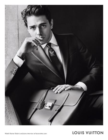 El director de cine Xavier Dolan presta su rostro para la nueva campaña de Louis Vuitton