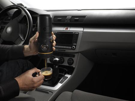 Handpresso: una cafetera para el coche