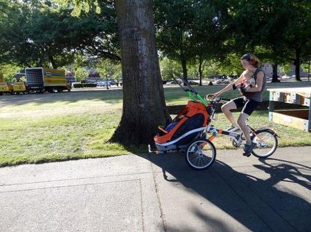 Hacer ejercicio con el bebé
