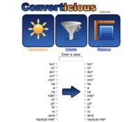 Converticious, otra opción más para realizar conversiones de unidades