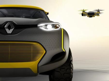 El Renault KWID incluye un drone como copiloto