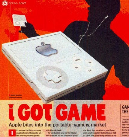 iGame de Apple, una inocentada de EGM