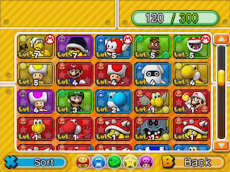 Puzzle Dragons Mario Edition Party Customization