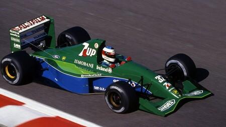 ¿Te sobran 1,5 millones de euros? Ha salido a la venta el Jordan 191, el coche de Fórmula 1 con el que debutó Michael Schumacher