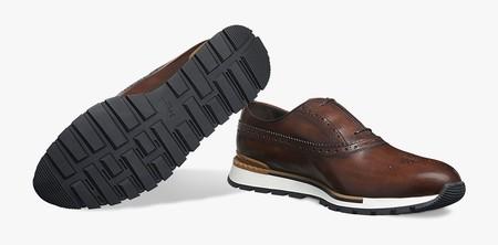 Entre un sneaker y un wingtip, éstos zapatos de Berluti son el must definitivo de invierno