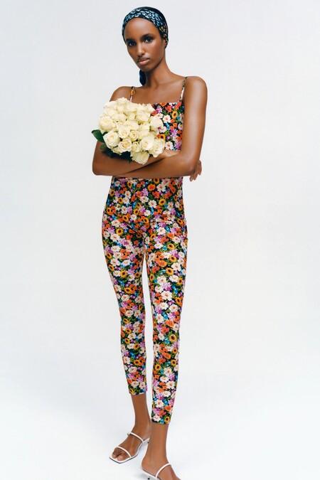 Total Look Flores Zara Primavera 2021 01