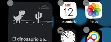 Cómo jugar al dinosaurio de Chrome en el widget oficial de Chrome para tu iPhone