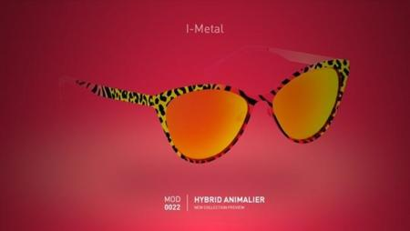Gafas de sol de Italia Independent: print animal en vivos colores