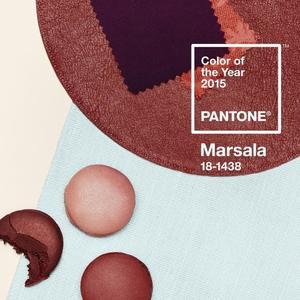 Y el color de este año 2015 según Pantone es... Marsala