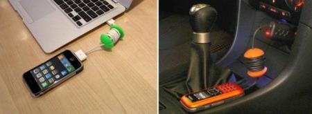 Applecore, otra forma de organizar los cables de tus gadgets