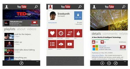 Microsoft y Google trabajan en una nueva versión de YouTube para Windows Phone
