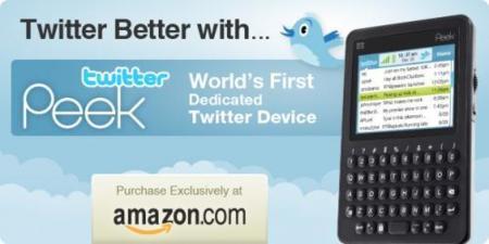 ¿Loco por Twitter? TwitterPeek es tu dispositivo