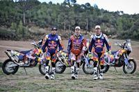 El Red Bull KTM Rally Factory Racing Team busca una nueva victoria en el Dakar 2015