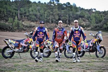 El Red Bull KTM Rally Factory Racing Team busca una nueva victoria en el Dakar 2015