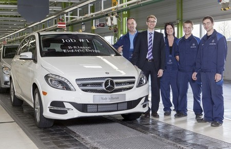 Mercedes-Benz Clase B Electric Drive Rastatt