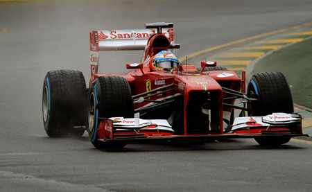 Fernando Alonso saldrá desde la quinta posición, justo por detrás de Felipe Massa