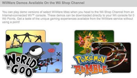 Nintendo deja en estado de espera las demos en WiiWare