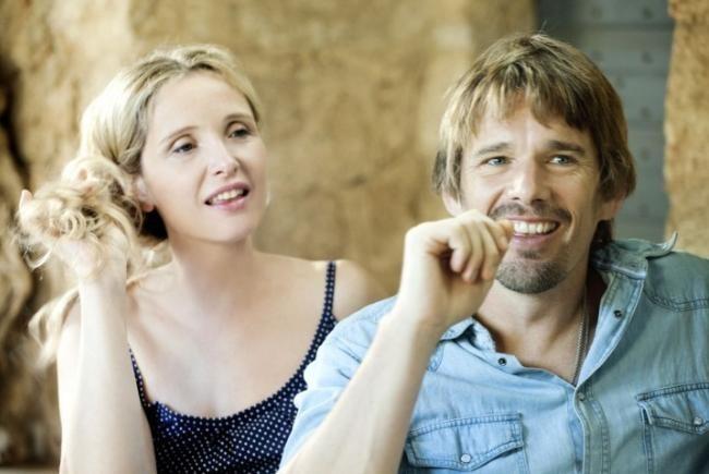 Julie Delpy y Ethan Hawke en Before Midnight
