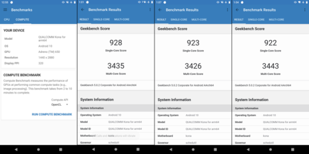 Qualcomm Snapdragon 865 Benchmark Geekbench
