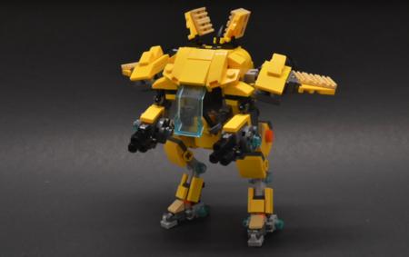Overwatch: con piezas de LEGO y este videotutorial  puedes montar un mini-meca como el de D.Va