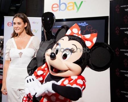 Vicky Martín Berrocal presenta sus diseños inspirados en Minnie Mouse y por una causa benéfica
