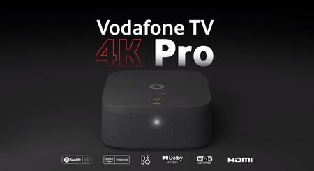 Llega el Vodafone TV 4K Pro, un descodificador 'todo en uno' con Dolby Atmos, HDR y Alexa por 5 euros al mes